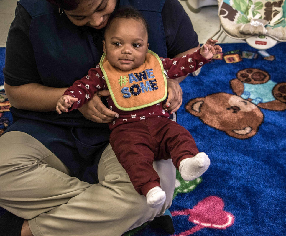 Encouragement And Care From Highly Trained Lead Teachers - Infants 6 Weeks 17 Months Serving Lanham-Bowie & Largo, MD