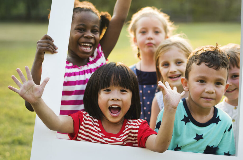 Physical Development In Outdoor Play - PRE-K 4 Years Old Serving Lanham-Bowie & Largo, MD